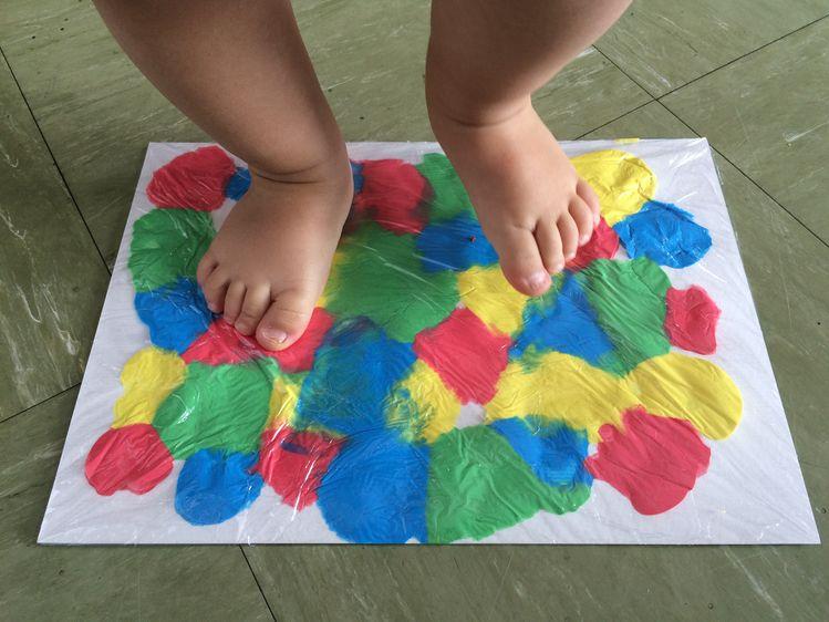 Рисуване за бебета? Възможно е